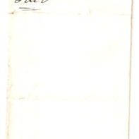 1843, Alerdice [& Co], £6/10/-, July 7th, Paid