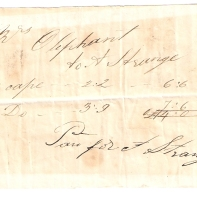 Mrs Oliphant, to A Strange, 3 [...] £2/2/- = £6/6/-, 2 [...] £3/9/- = £7/6/-, (total) £14/-/-.